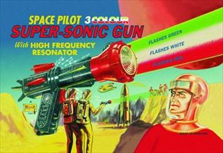 Space Pilot Super-Sonic Gun 1950