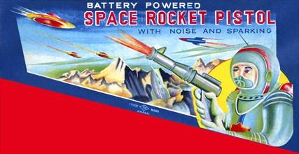 Space Rocket Pistol 1950