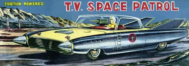 T.V. Space Patrol Car 1950