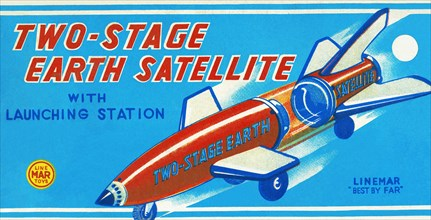 Two-Stage Earth Satellite 1950