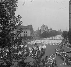 Ku Klux Klan Parade in Washington DC 1925