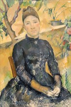 Madame Cézanne in the Conservatory, 1891
