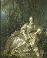 Boucher, Portrait de Madame de Pompadour