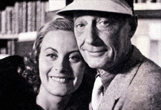 Jacques Feyder and Michèle Morgan