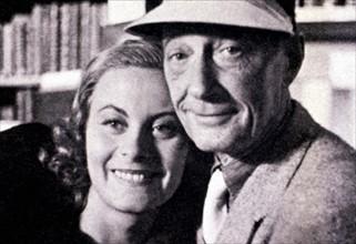 Jacques Feyder et Michèle Morgan