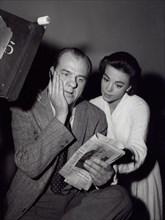 Natalie Wood With Karl Malden