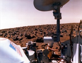 Viking Ii On The Surface Of Mars