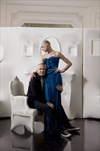 Jean-Paul Gaultier et Ève Salvail, 2011