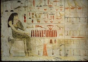 A slab stela which belonged to Princess Nefertiabt