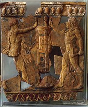 Terracotta plaque from the Temple of Apollo on the Palatine