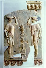 Decorative relief from the Temple of Apollo on the Palatine