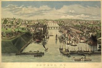 Oswego, New York 1855 1855