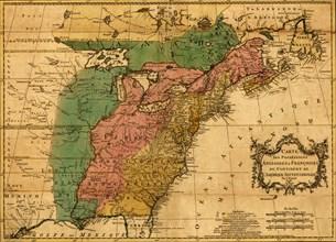 British & French Claims to North America - 1756 1756