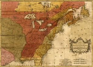 English & French Possessions in North America - 1763 1763