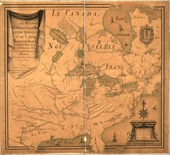 Canada & New France - 1685 1685