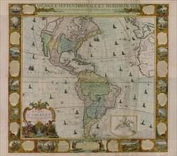 Map of America - 1781 1781