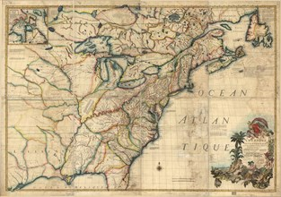 French & English Settlements in the US - 1777