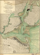 French Map of the Hudson River Valley - 1778