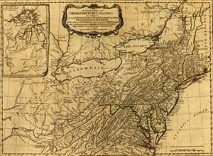 French & English Settlements in North America - 1776