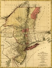 Provinces of New-York and New Jersey, with a part of Pennsylvania and the Province of Quebec - 1777