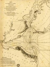 French Naval Map for the Entrance to the Hudson in New York - 1778