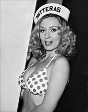 Young Woman Wearing A Bikini