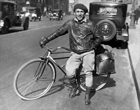 Man With A Traveling Bicycle