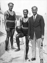 Sam, Dave and Duke Kahanamoku