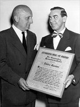 Eddie Cantor Receives Award