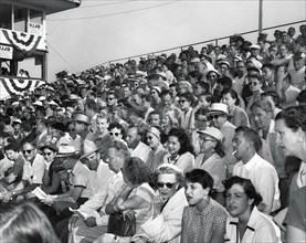Golf Grandstand Crowds