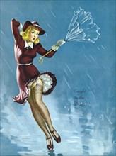 Gil Elvgren's Pin-Up Girl