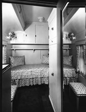 Bedroom On The Royal Train