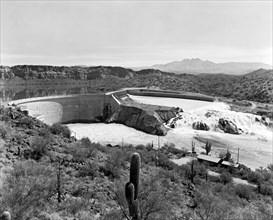 The Salt River In Arizona