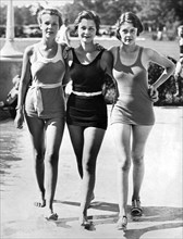 Army Bathing Suit Trio