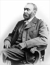 Portrait Of Alfred Nobel