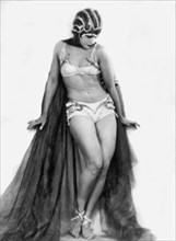 Portrait Of Exotic Dancer