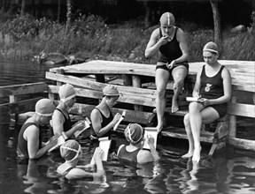 The Secretary Pool At Camp
