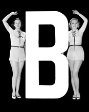 """The Letter """"B"""" And Two Women"""