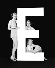 """The Letter """"E"""" And Three Women"""