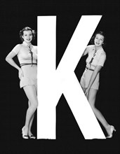 """The Letter """"K""""  And Two Women"""