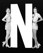 """The Letter """"N""""  And Two Women"""