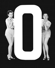 """The Letter """"O""""  And Two Women"""