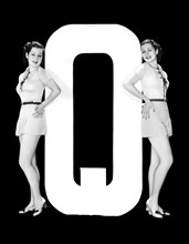 """The Letter """"Q""""  And Two Women"""