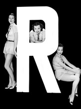 """The Letter """"R""""  And Three Women"""