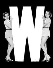 """The Letter """"W"""" And Two Women"""