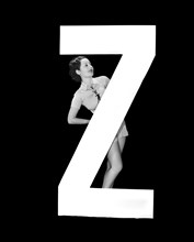 """The Letter """"Z"""" And A Woman"""