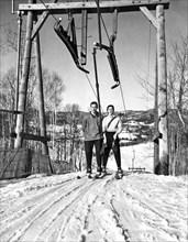 Ski Lift At Saint-Sauveur