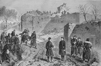 Demolition of french batteries