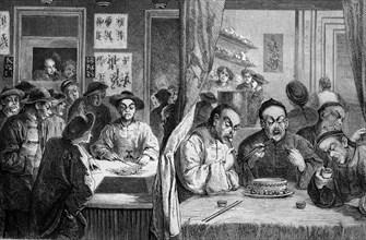 Restaurant in chinatown, melbourne