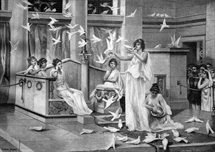 The doves of the venus temple